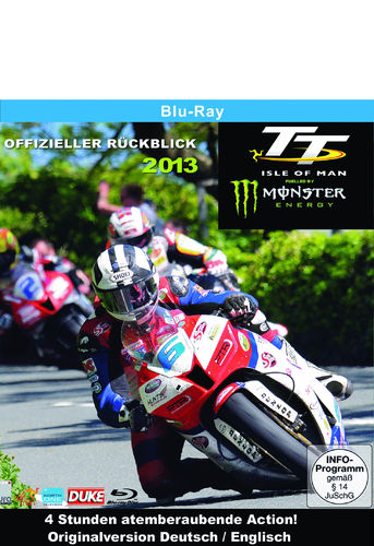 TT IOM 2013 Bluray - Deutsch/Englisch